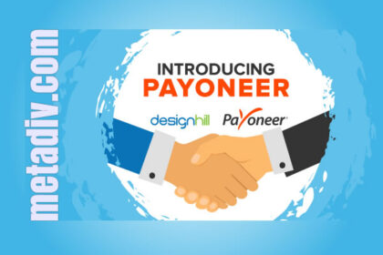 Designhill Introduced Payoneer as their Payment Method for designers