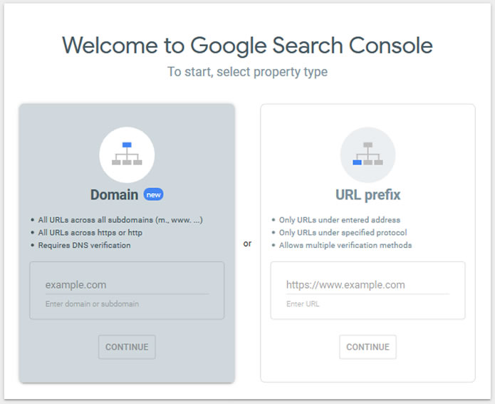 Google Search Console to find errors and problems with your site's technical SEO.