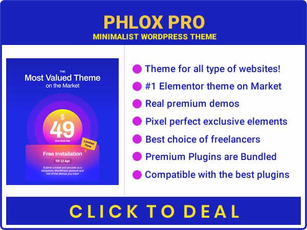 Phlox Pro- Elementor MultiPurpose WordPress Theme- best selling Elementor WordPress Theme